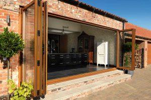 uPVC Bi-Fold Doors Eurocell